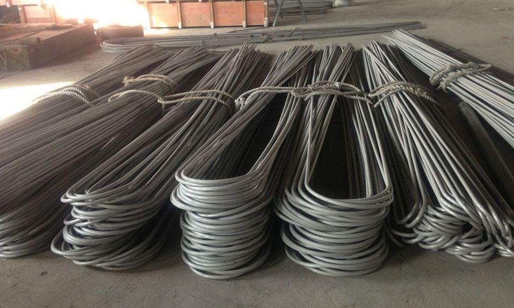 Stainless Steel 304 Seamless U Tubes