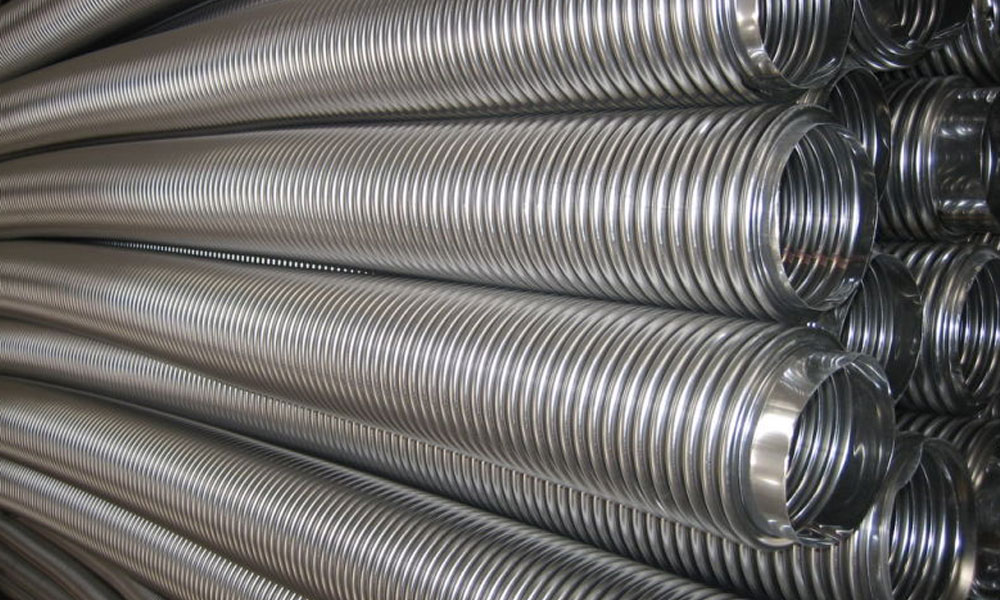 Stainless Steel 310 / 310S Corrugated Tubes