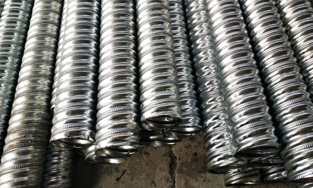 Stainless Steel 321/321H Corrugated Tubes