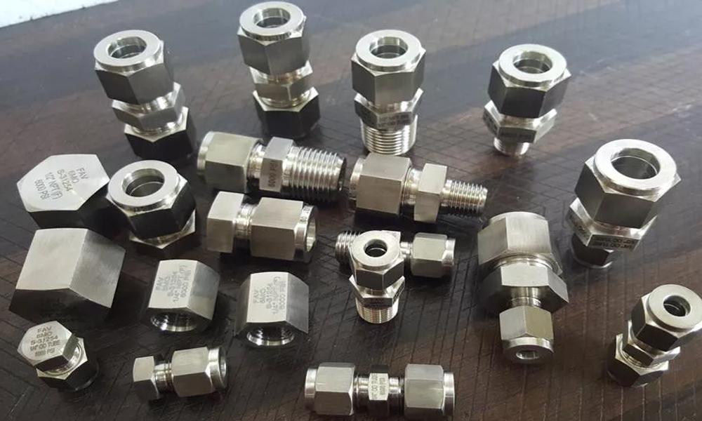Stainless Steel Double Ferrule Fitting